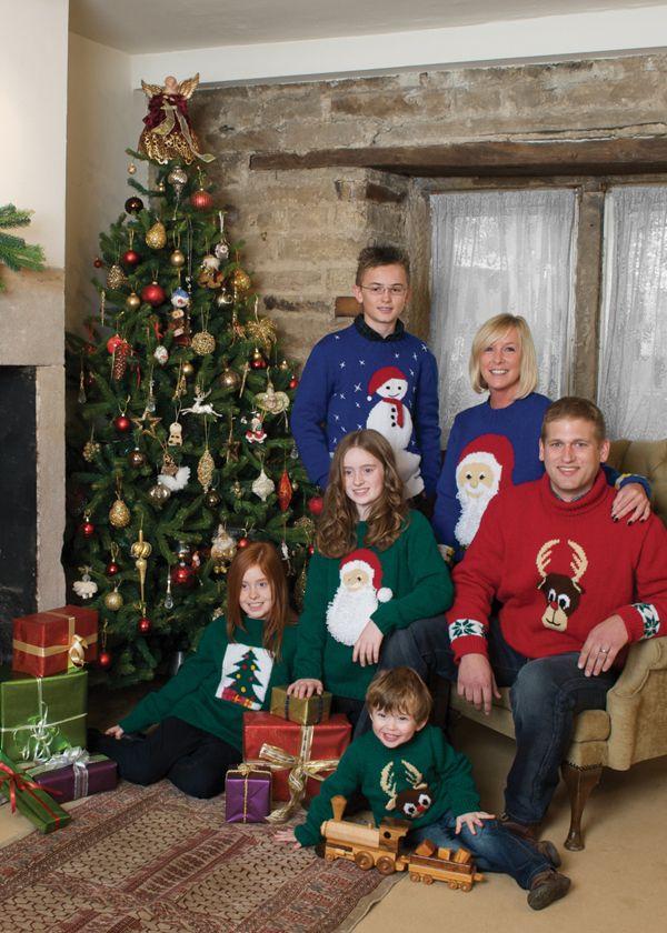 Free Rowan Knitting Pattern Patons Christmas Sweaters Patterns