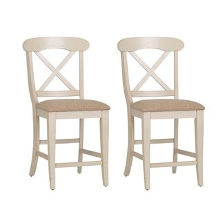 Terrific The Gray Barn Broken Bison Upholstered X Back Counter Height Forskolin Free Trial Chair Design Images Forskolin Free Trialorg