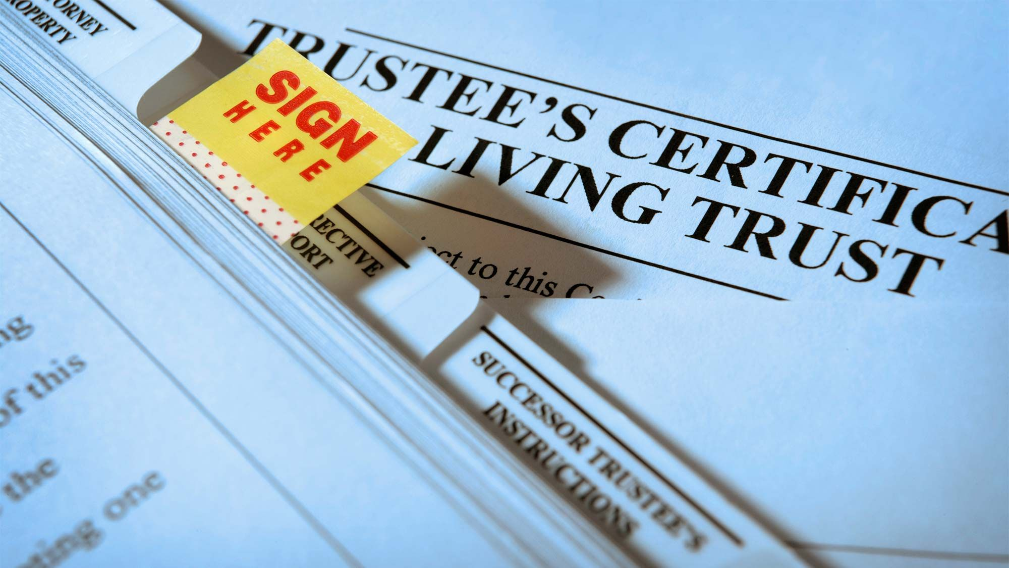 Why Should I Put My Home In A Living Trust Trust Will