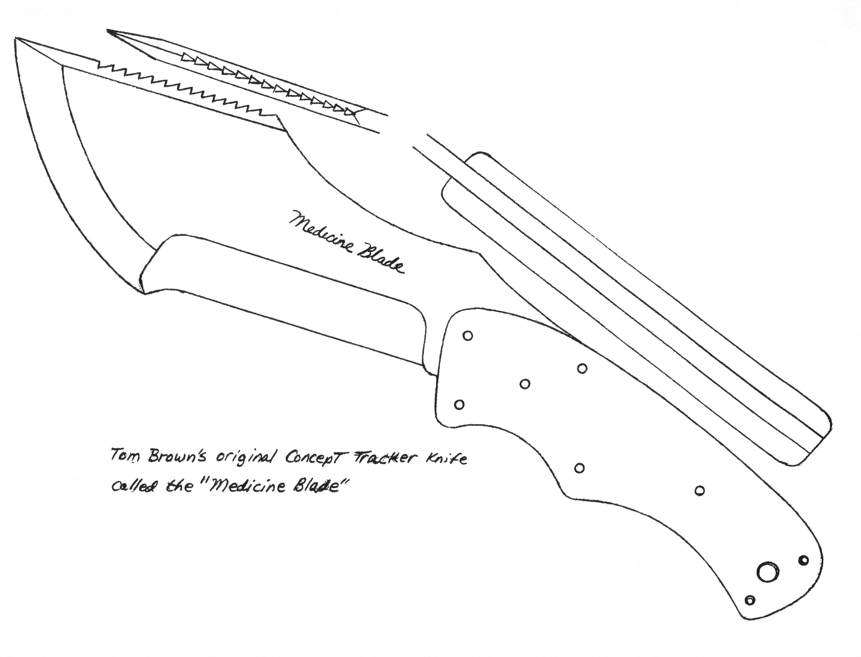Blade templates | Beck, The Real Tracker Story | Knife shapes ...