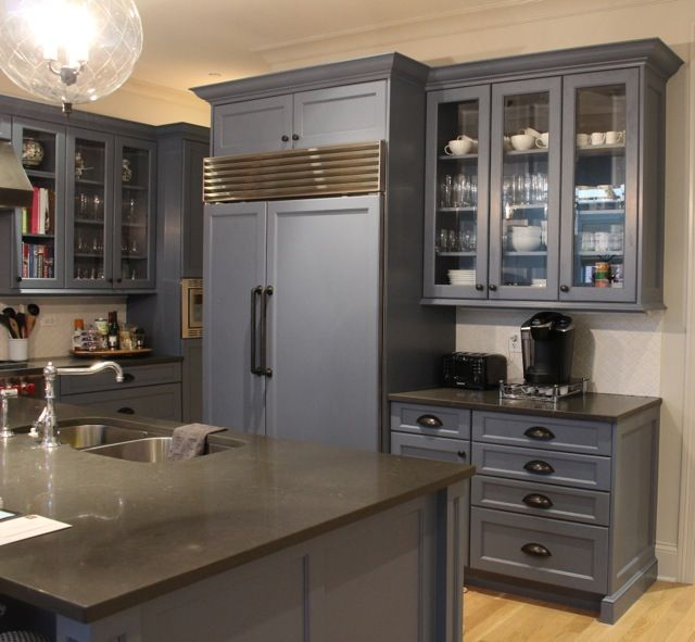 Hand Painted Kitchen Cabinets. Fine Paints Of Europe Eco In WC 94, Satin
