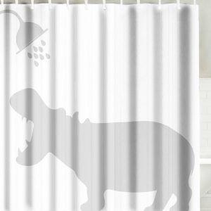Nice Gigi Fabric Shower Curtain