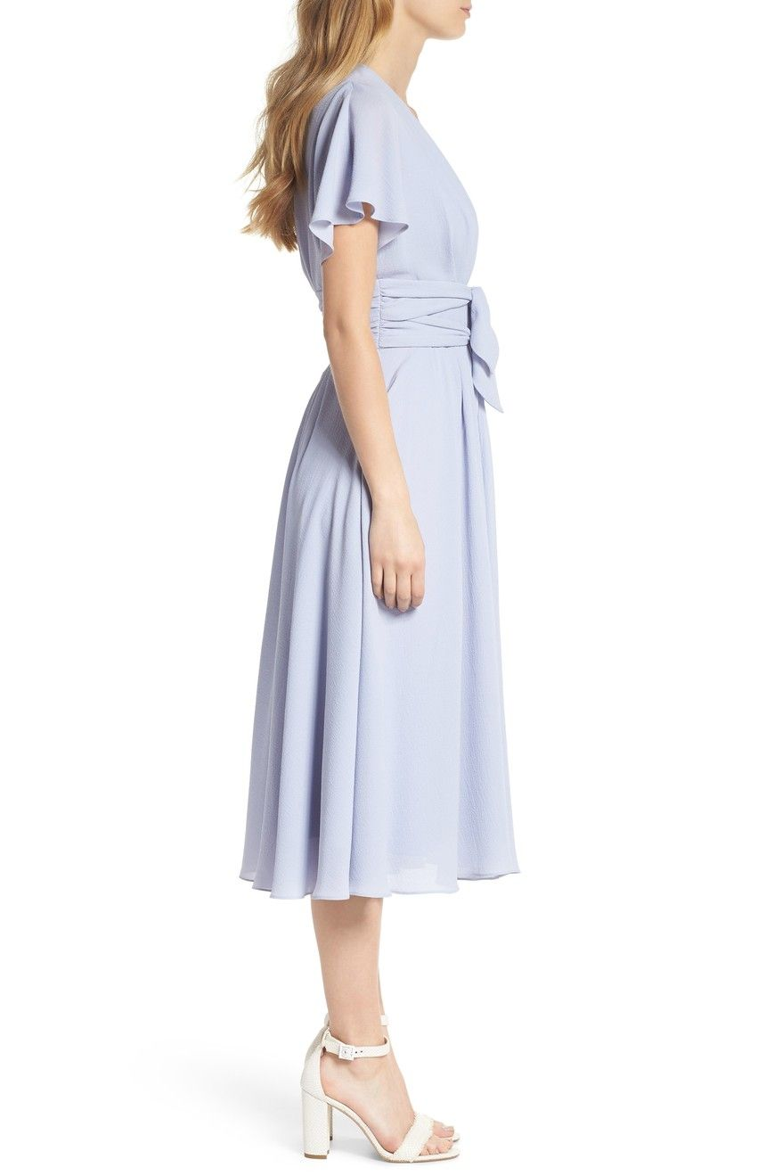 0531a74e995eb Gal Meets Glam Collection Jane Tie Waist Midi Dress (Nordstrom Exclusive) |  Nordstrom