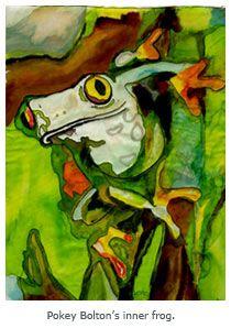 Art Quilt Techniques Blogs | ... Reveal Our Animal Alter Egos - Quilting Daily - Blogs - Quilting Daily