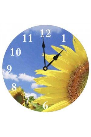 Настінний годинник круглий