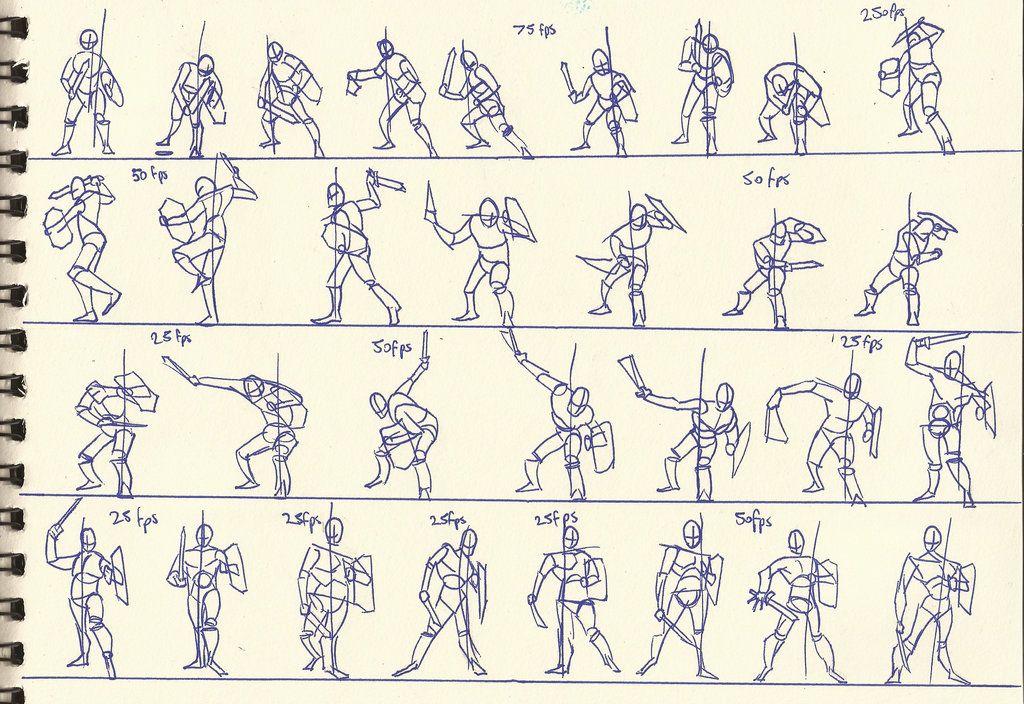 рисунки бои на мечах что