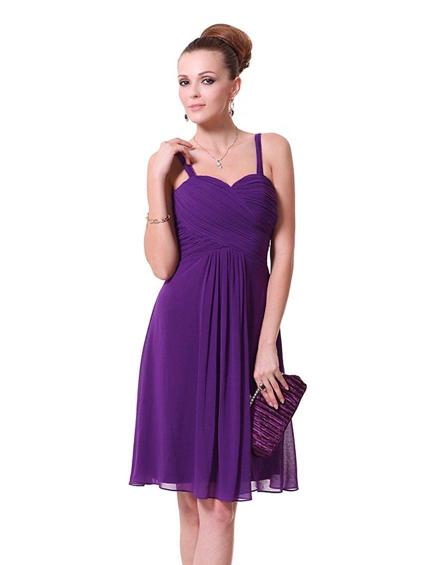 purple Bridesmaid Dresses | Purple Chiffon Bridesmaid Dresses ...