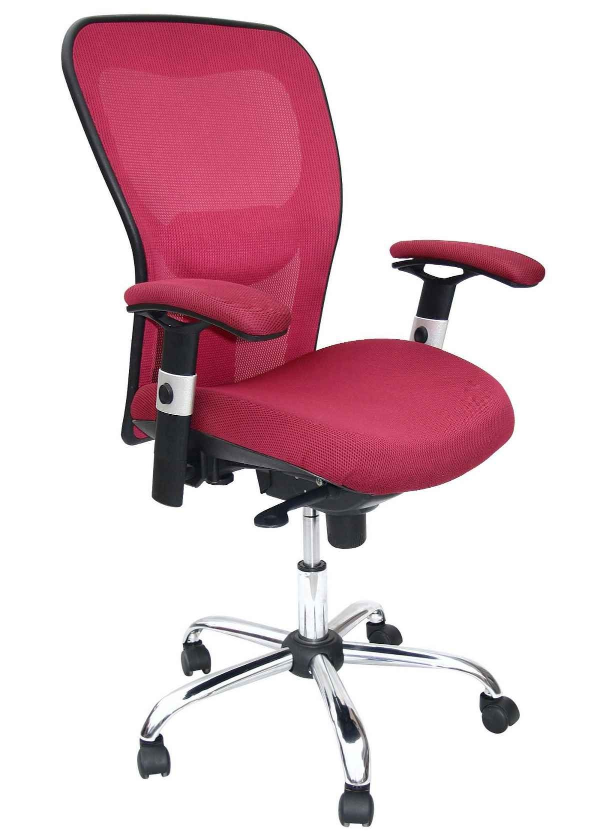 Pink Desk Chair With Arms