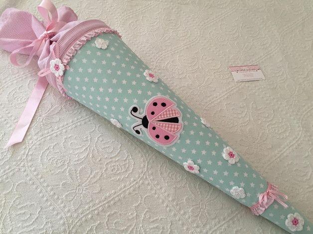 Photo of ★★★ Eine schöne große Schultasche Farbe ist Minze / Rosa, sooo …