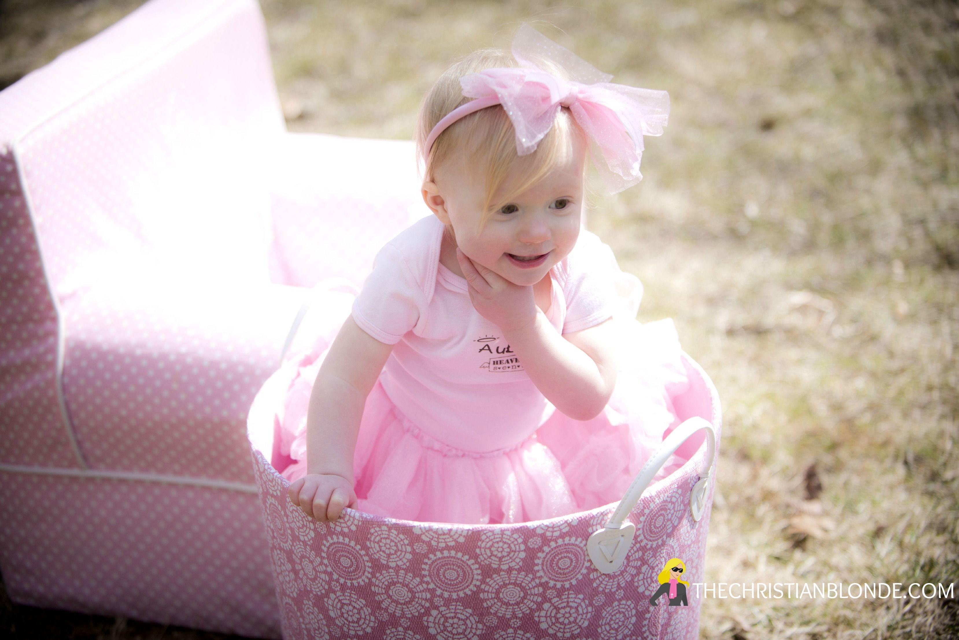 Photoshoot, Photo Shoot, Bow, Headband, One, First, 18 Months, Pink ...