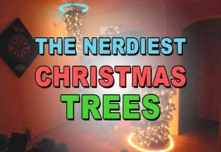27 Awesomely Nerdy Christmas Trees