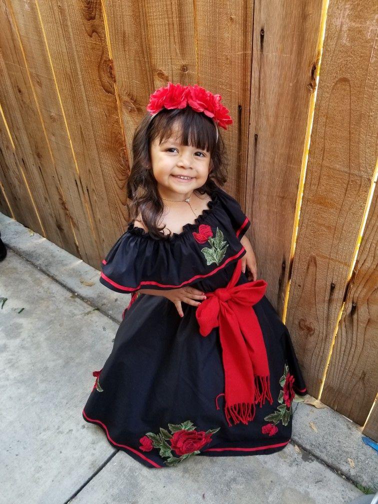 Vestidos Mexicanos Modernos Para Niñas