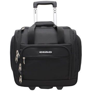Costco: Ciao Rolling Carry On Under Seat Rolling Bag - Black