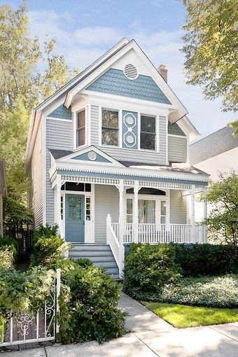 Victorian Or Queen Anne Homes Are Typically Two To Three Stories With Intricate Shapes Sharply Pitched Roofs Vibrant Colors And Lots Of Trim