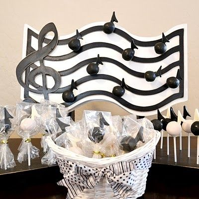 Delightful Music Note Baby Shower   Google Search