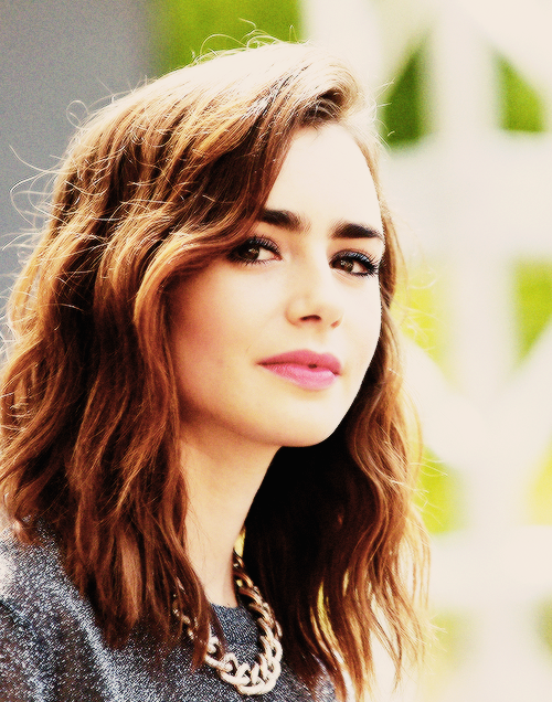 beauty icon lily collins on girl for granted make up