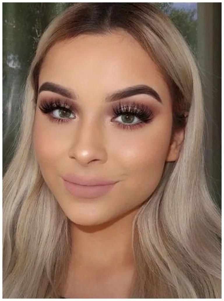 40+ Perfect Green Eye Makeup Ideas | Soft natural makeup ...