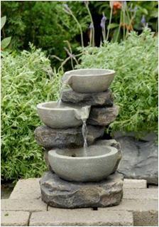 Fontaine cascade d 39 eau d corative au meilleur prix for Fontaine a eau de jardin