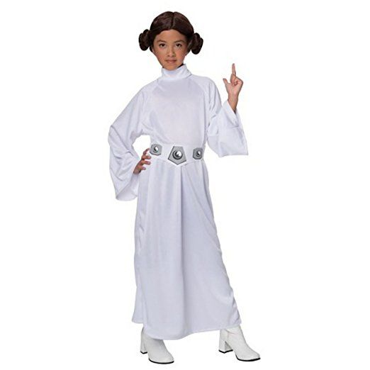 Kostüm Cosplay Fasching Halloween Karneval Star Wars Perücke Prinzessin Leia