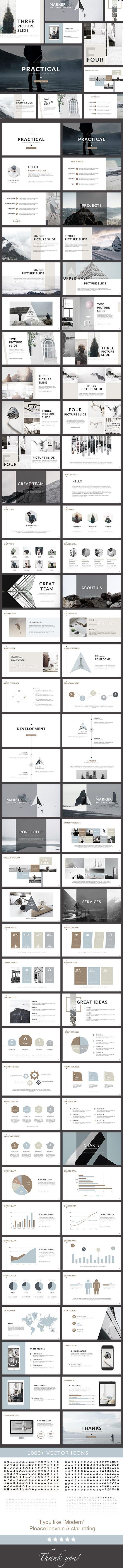 Practical - Clean PowerPoint Presentation - Creative PowerPoint ...