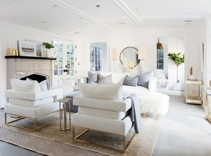 Peek inside designer erin fetherston   new   home tapped online decor retailer one kings lane to help furnish the living room of her also in black rh pinterest
