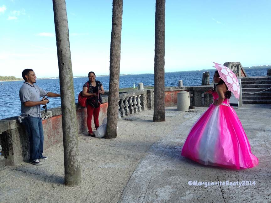 Quince Photoshoot at Vizcaya. Photo by Marguerite Beaty.