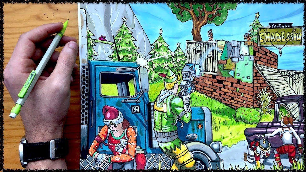 Dibujo Fortnite Fortnite Kids App Battle Royale Game