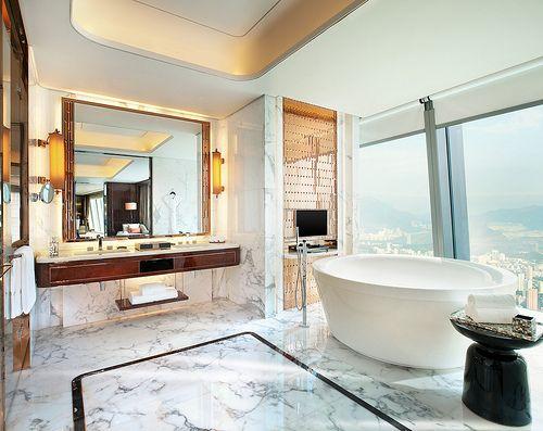 The St Regis Shenzhen Presidential Suite Bathroom Luxury
