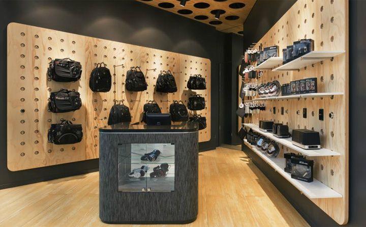badass store by mim design chadstone australia store design