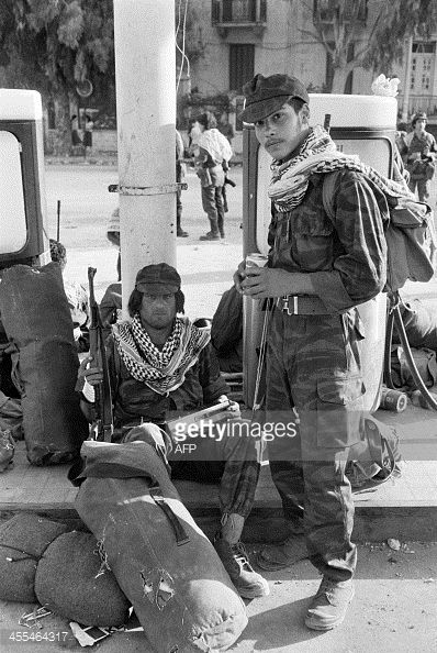 The Last Palestinian Liberation Organisation Soldiers To Leave