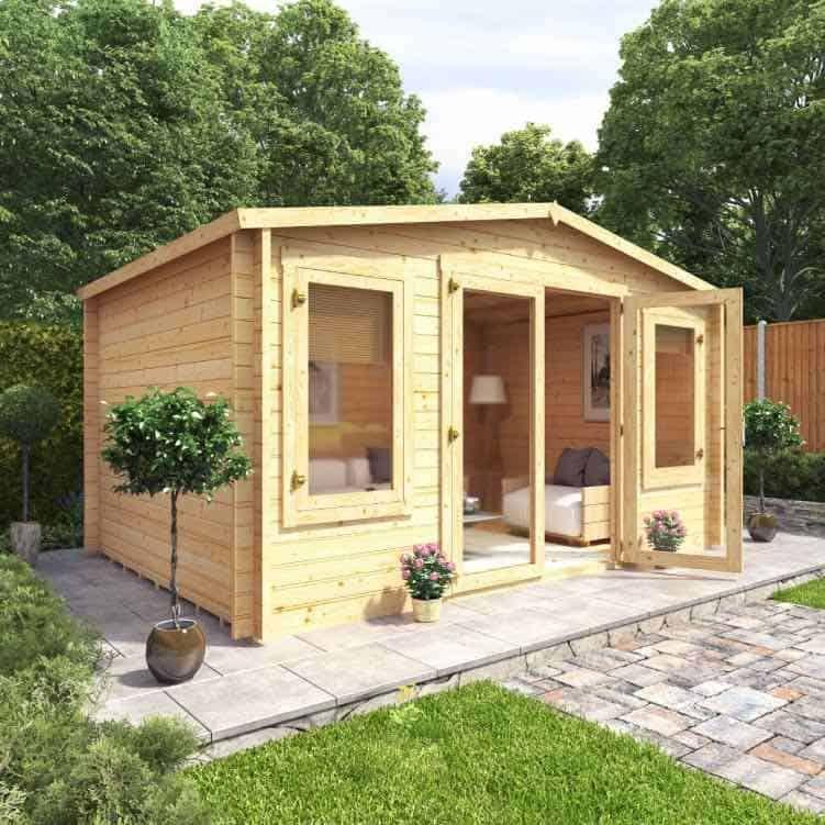 5 Big Benefits Of Garden Log Cabins Garden Log Cabins Garden Buildings Direct Summer House Garden