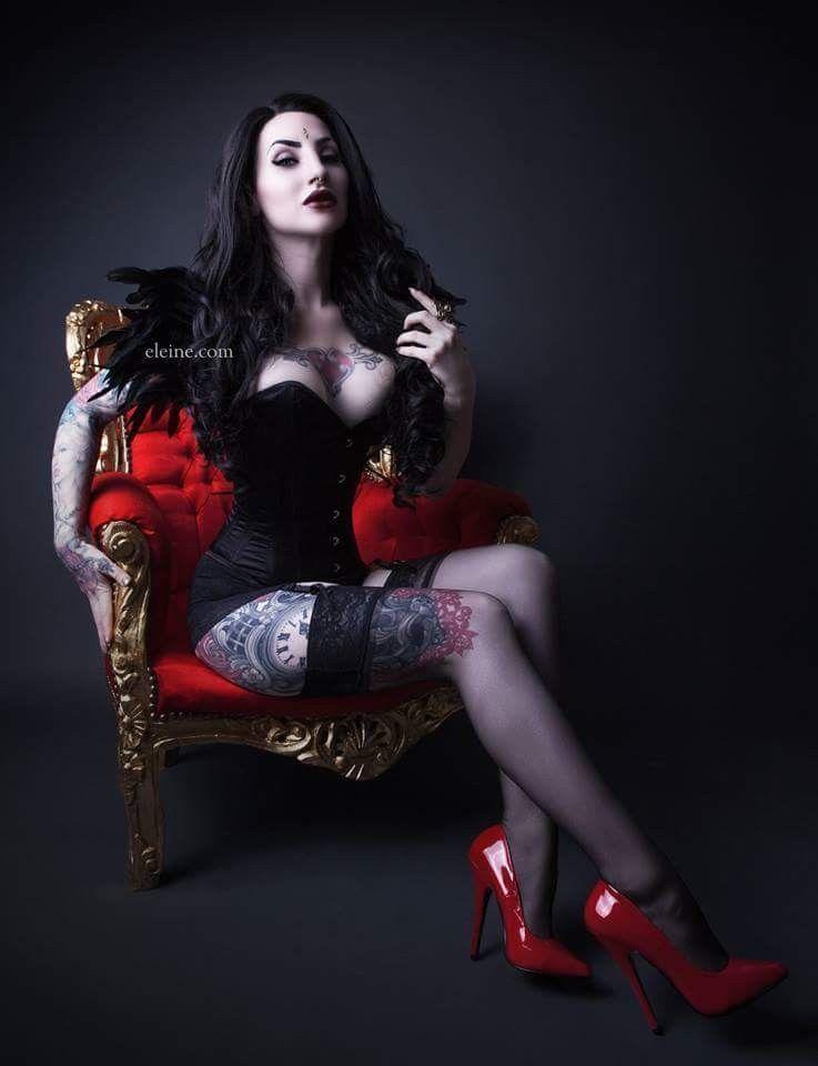 Gothic goth girl sex