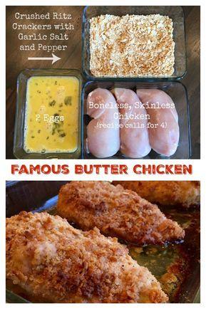 Famous Butter Chicken (aka, Ritz Cracker Chicken)