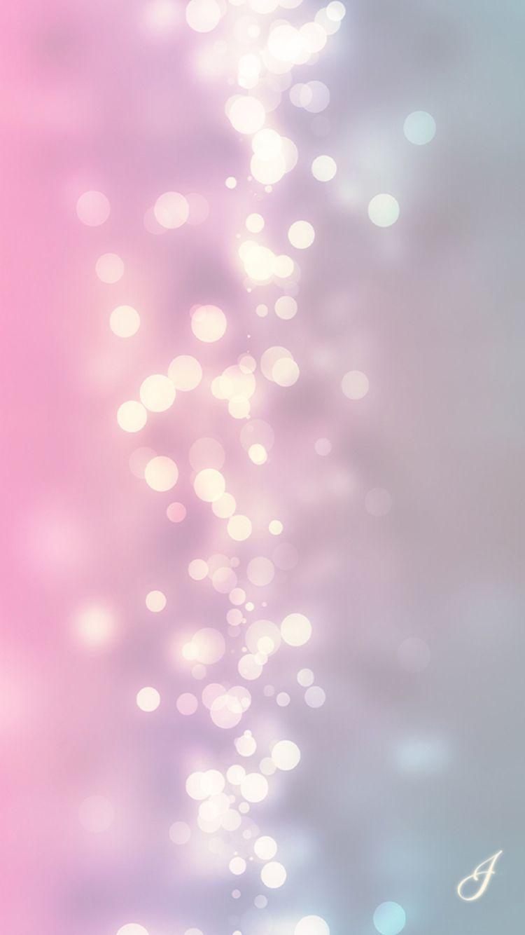 Pink bokeh lights iPhone wallpaper   b a c k g r o u n d s ...