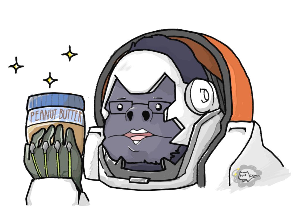 Winston Fanart Overwatch By Kururuart On Deviantart Overwatch Fan Art Overwatch Winston Overwatch Memes
