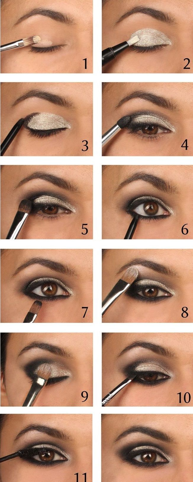25 easy step by step makeup tutorials for teens | the eyes