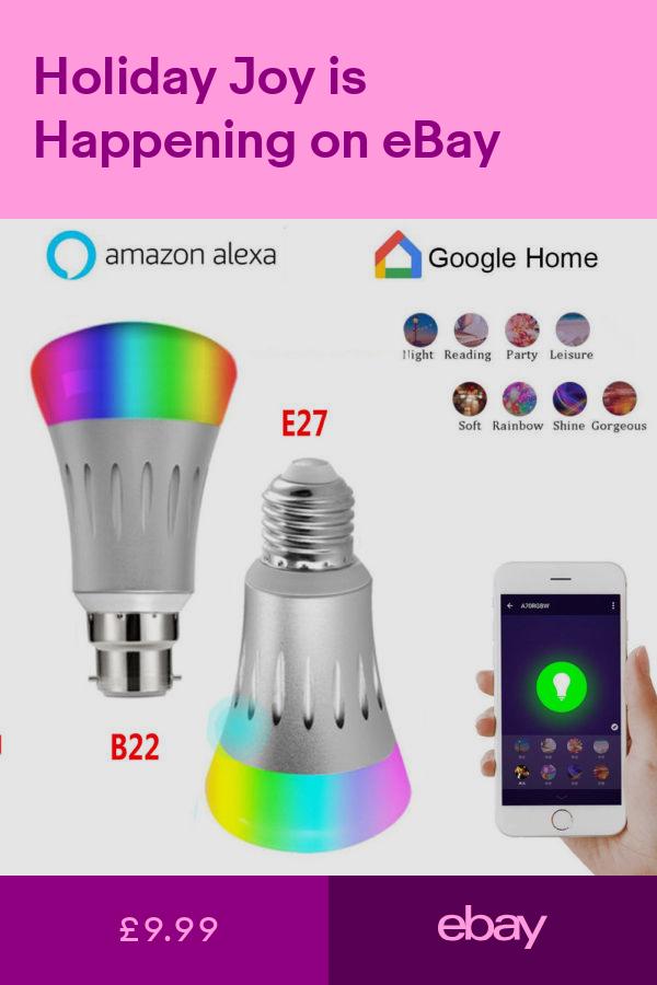 Light Bulbs Home Furniture & DIY ebay App remote, Smart