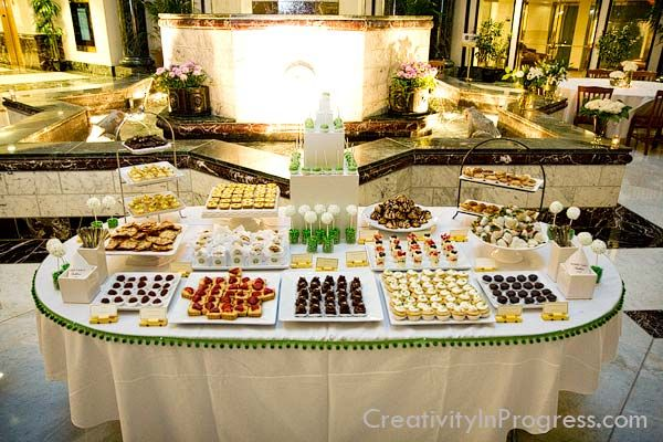Beau Wedding Buffet Decoration Ideas Wallpaper