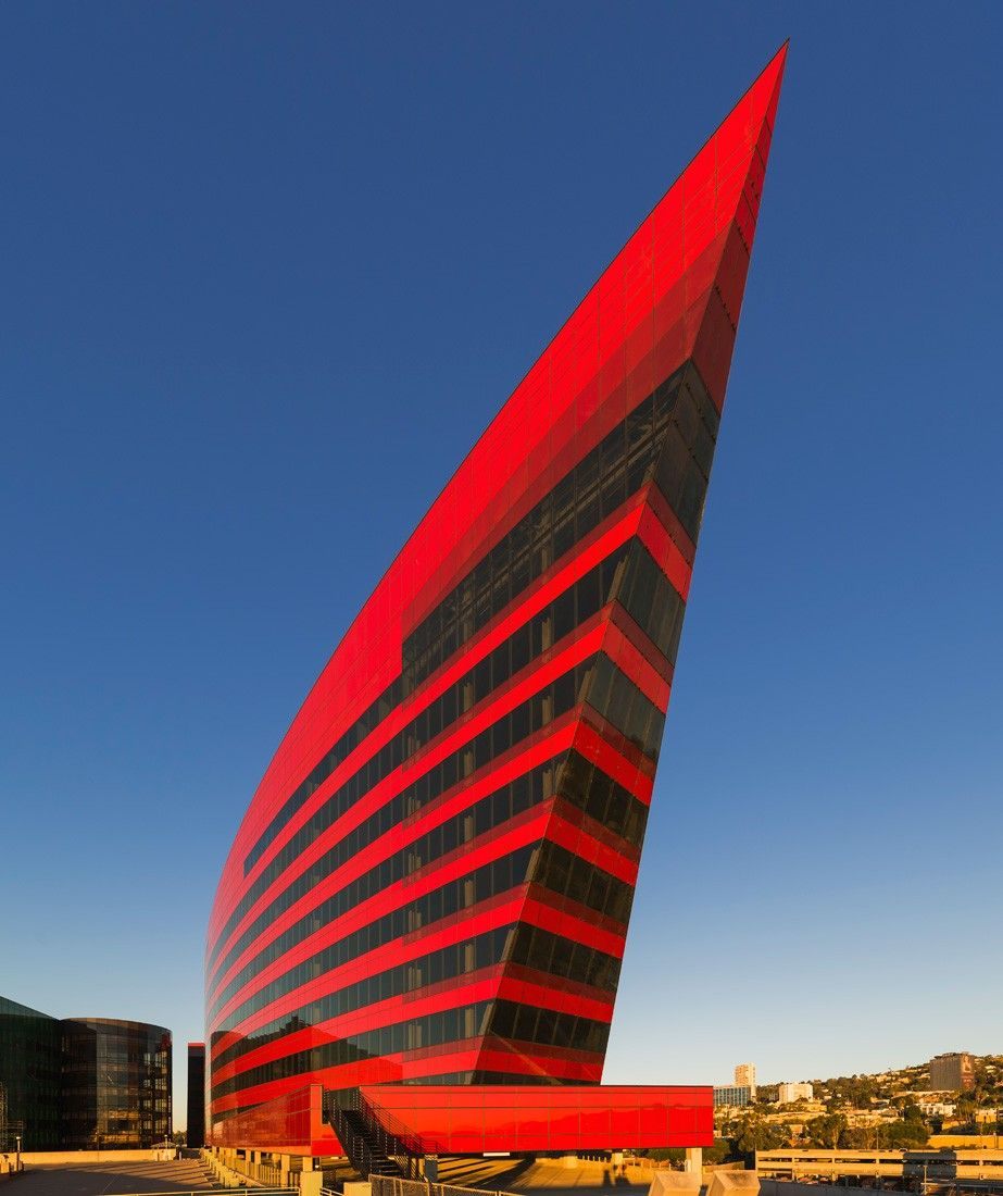 Pacific Design Center Red Building In West Hollywood CA
