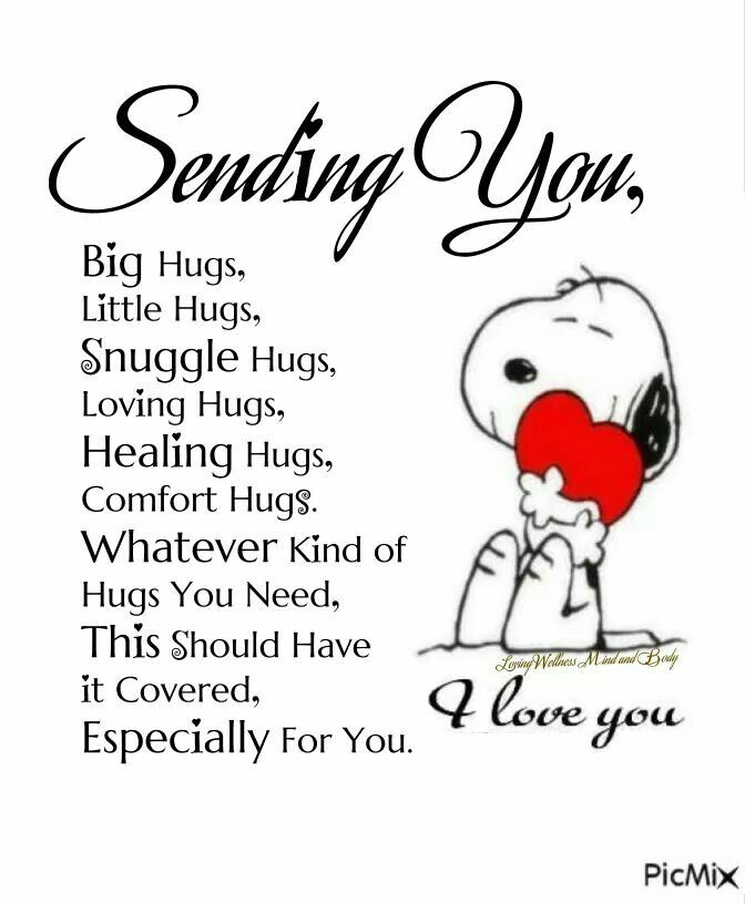 Hugs where I squeeze you so tight.?sweet dreams my bacon