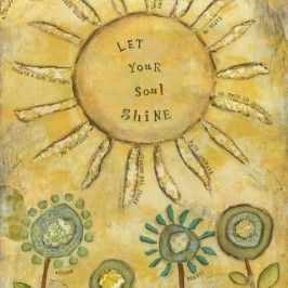 Letting your soul shine (and even…