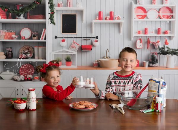 25 Christmas Photoshoot Ideas for Kids and Babies -   15 christmas photoshoot kids ideas