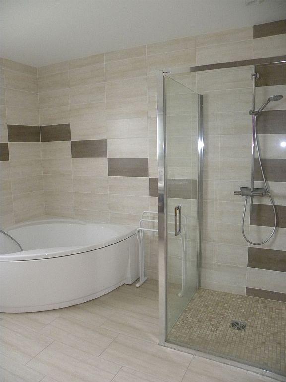 Location vacances chalet Gerbépal salle de bain avec douche à l - salle de bains avec douche italienne