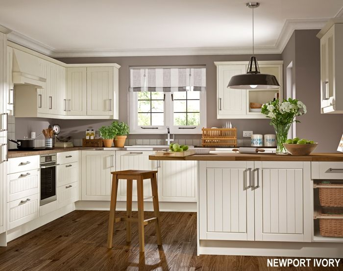 ivory with plum/ taupe walls? | Contemporary kitchen ...