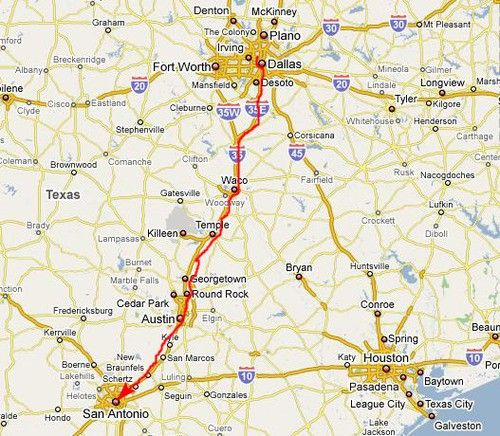 The Drive From Dallas To San Antonio My Top 10