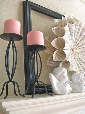 A Diamond in the Stuff: A Year Of Mantels-  Some fun ideas to make mantels festive year round!