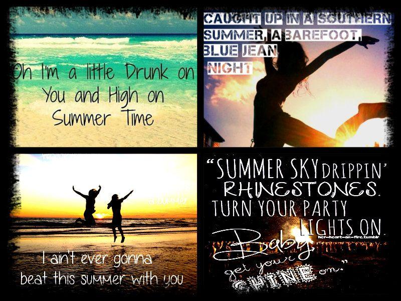 Lyric Quotes · Itu0027s Smile, Itu0027s A Kiss. Itu0027s A Sip Of Wine. Itu0027s Summertime.