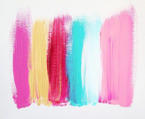 Imagen De Pink, Blue, And Paint