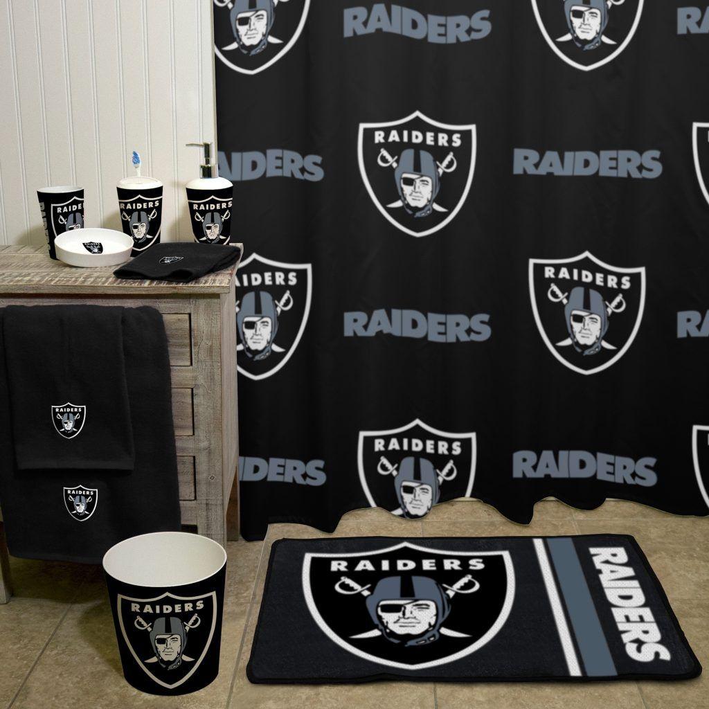 Raiders Bathroom Sets Raiders Oakland Raiders