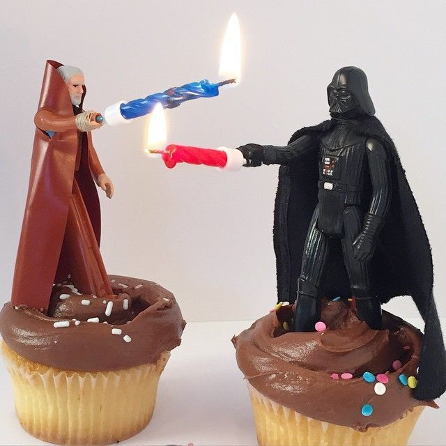 Star Wars Cake Toppers must store this in the idea vault for my